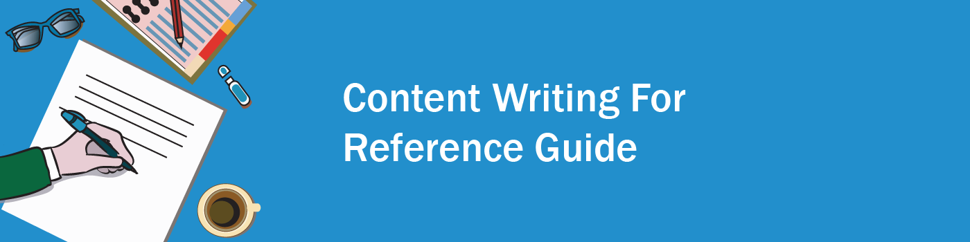 Content writing for reference guide