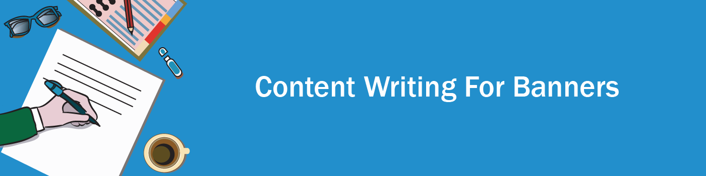 Content writing for banner